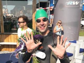 Succesvolle 10e editie van de zwem2mijl