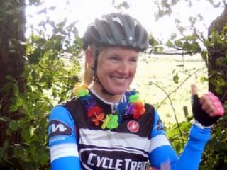 Nicky neemt afscheid als fietstrainster