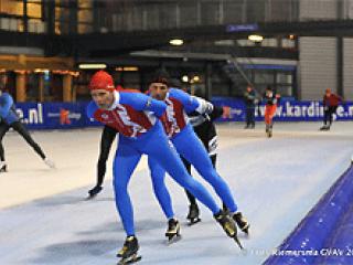 Inschrijving schaatstraining gesloten